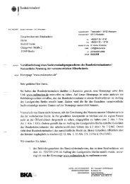 BKA Mahnung - berliner gefahr