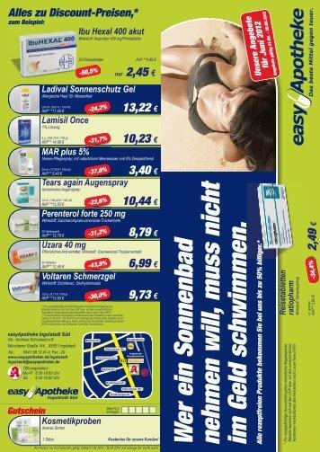 zu Discount-Preisen - easy Apotheke