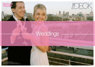 The Deck wedding package_0