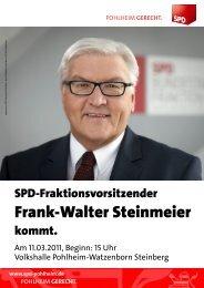 Frank-Walter Steinmeier - Rüdiger Veit