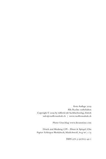 leseprobe - rüffer & rub