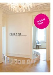 HERBST 2009 - rüffer & rub