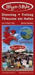 PDF 1/3 DIN A4 CMYK - Rügen-Markt im Ostseebad Thiessow