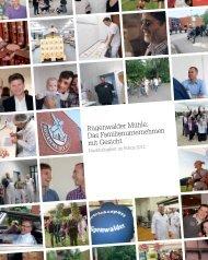 Nachhaltigkeitsbroschüre 2012 - Rügenwalder Mühle