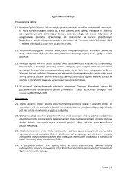Strona | 1 Ogólne Warunki Zakupu 1.1. Niniejsze Ogólne Warunki ...