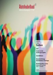 Mitteilungen Nr. 97 Juni 2013 - Stiftung Rüttihubelbad