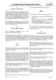 ALLGEMEINE GESCHÄFTSBEDINGUNGEN (AGB-3) - RUF Baustoffe