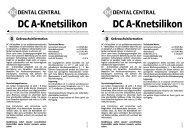 DC A-Knetsilikon DC A-Knetsilikon - Dental Central