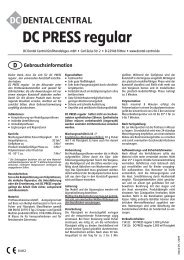DC PRESS regular DC PRESS r - Dental Central