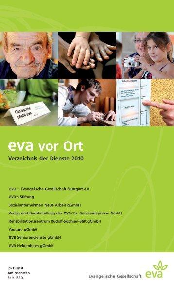 Verzeichnis der Dienste 2010 - eva