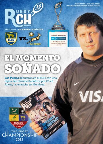 Programa de Argentina vs Sudáfrica en Mendoza - Rugby ...