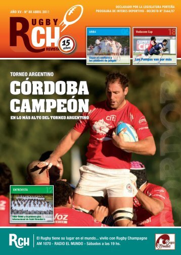 Link RCH Revista Abril N 88 - Rugby Champagne Web