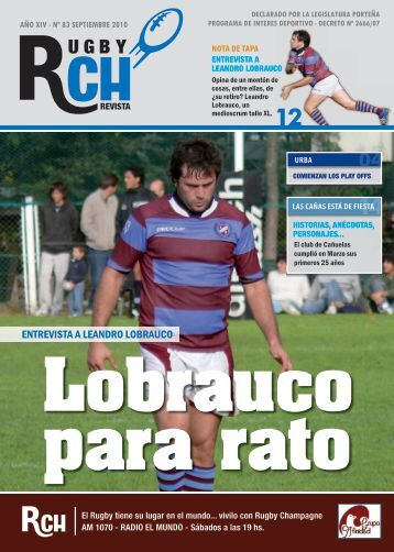 Link a la revista - Rugby Champagne Web