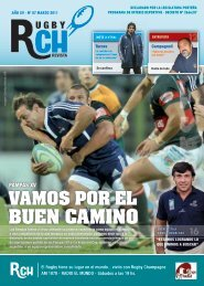 Link RCH Revista Marzo N 87 - Rugby Champagne Web