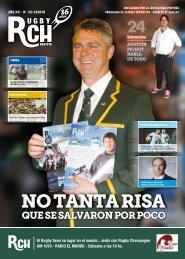 NO TANTA RISA - Rugby Champagne Web
