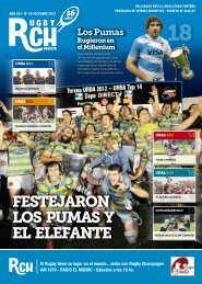 Revista RCH N° 104 – Octubre 2012 - Rugby Champagne Web