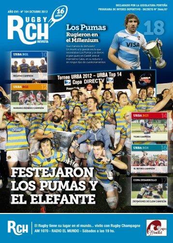 Revista RCH N° 104 – Octubre 2012 - Rugby Champagne Web