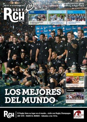 Revista RCH N° 103 – Septiembre 2012 - Rugby Champagne Web