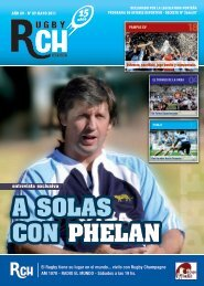 Link RCH Revista Mayo N 89 - Rugby Champagne Web