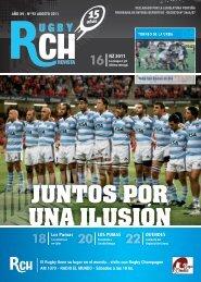 Link a la Revista RCH de Agosto 2011 – N 92 - Rugby Champagne ...