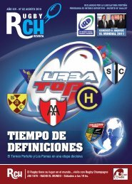 TIEMPO DE DEFINICIONES - Rugby Champagne Web