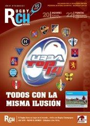 Link a la RCH Revista Junio 2011 N 90 - Rugby Champagne Web