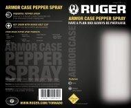 Ruger® Armor Case Pepper Spray