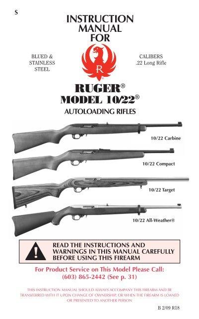 Ruger 10//22 Standard Rear Sight~B-76