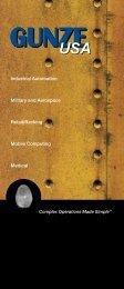 Gunze's vertical market touch screen brochure - Rugged PC Review
