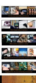Gunze's vertical market touch screen brochure - Rugged PC Review - Page 5