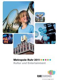 Reisemagazin 2011 - Ruhr Tourismus