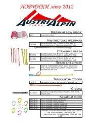 AustriAlpin, новинки 2011-2012 (pdf 893 kb)