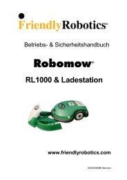 Robomow - Rumsauer
