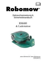 RM400 & Ladestation - Rumsauer