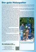 Holzspalter 2012 /2013 - Rumsauer - Seite 4