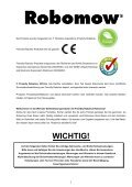 Bedienungsanleitung - Robomow RM510 - myRobotcenter - Page 2