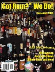 newsletter - The Rum Shop