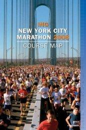ing new york city marathon 2008 course map ing ... - Run New York