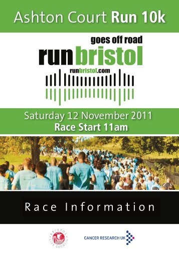 Ashton Court Run 10k - Bristol Half Marathon
