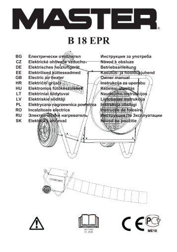 B 18 EPR - Rumsauer