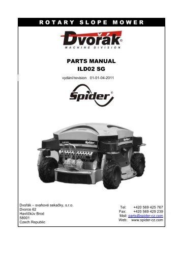 rotaryslopemower parts manual ild02 sg - Rumsauer