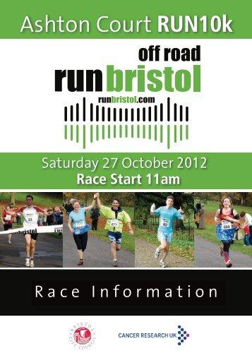 Race Info booklet - Bristol Half Marathon