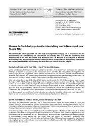 Pressemitteilung als pdf - Museum in der