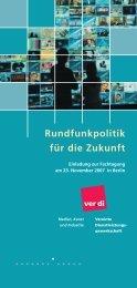 Flyer + Anmeldung als pdf - Rundfunkfreiheit.de