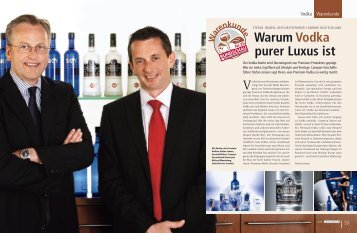 Warum Vodka purer Luxus ist