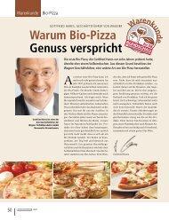Warum Bio-Pizza Genuss verspricht - RUNDSCHAU für den ...