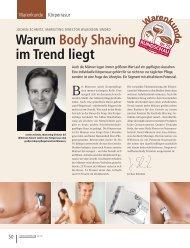 Warum Body Shaving im Trend liegt