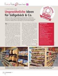 Ungewöhnliche Ideen für Süßgebäck & Co.