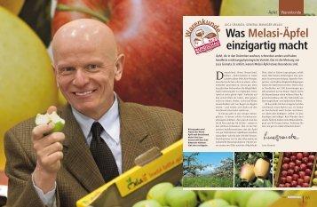 Was Melasi-Äpfel einzigartig macht