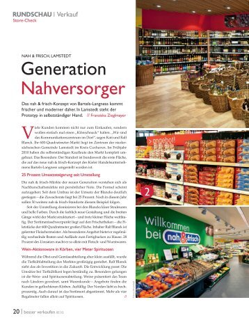 Generation Nahversorger